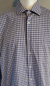 Van Heusen Plaid Dress shirt Excellent Condition